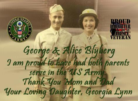 George and Alice Blyberg