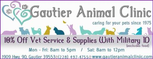 Veteraniarian - Gautier Animal Clinic- Gautier, Mississippi