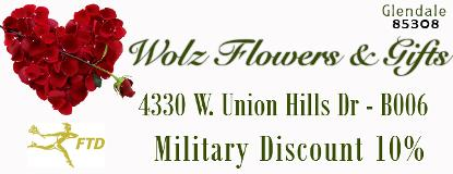 Wolz Flowers and Gifts - Serving Anthem