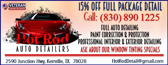 Hot Rod Auto Detailers in Kerrville, TX